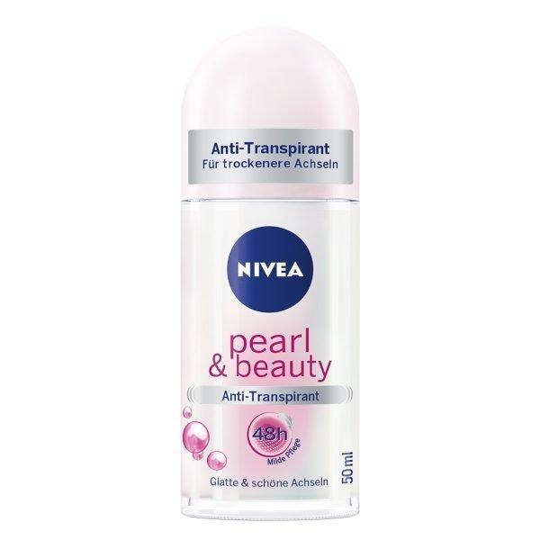 Nivea Pearl & Beauty Roll On 50Ml 1