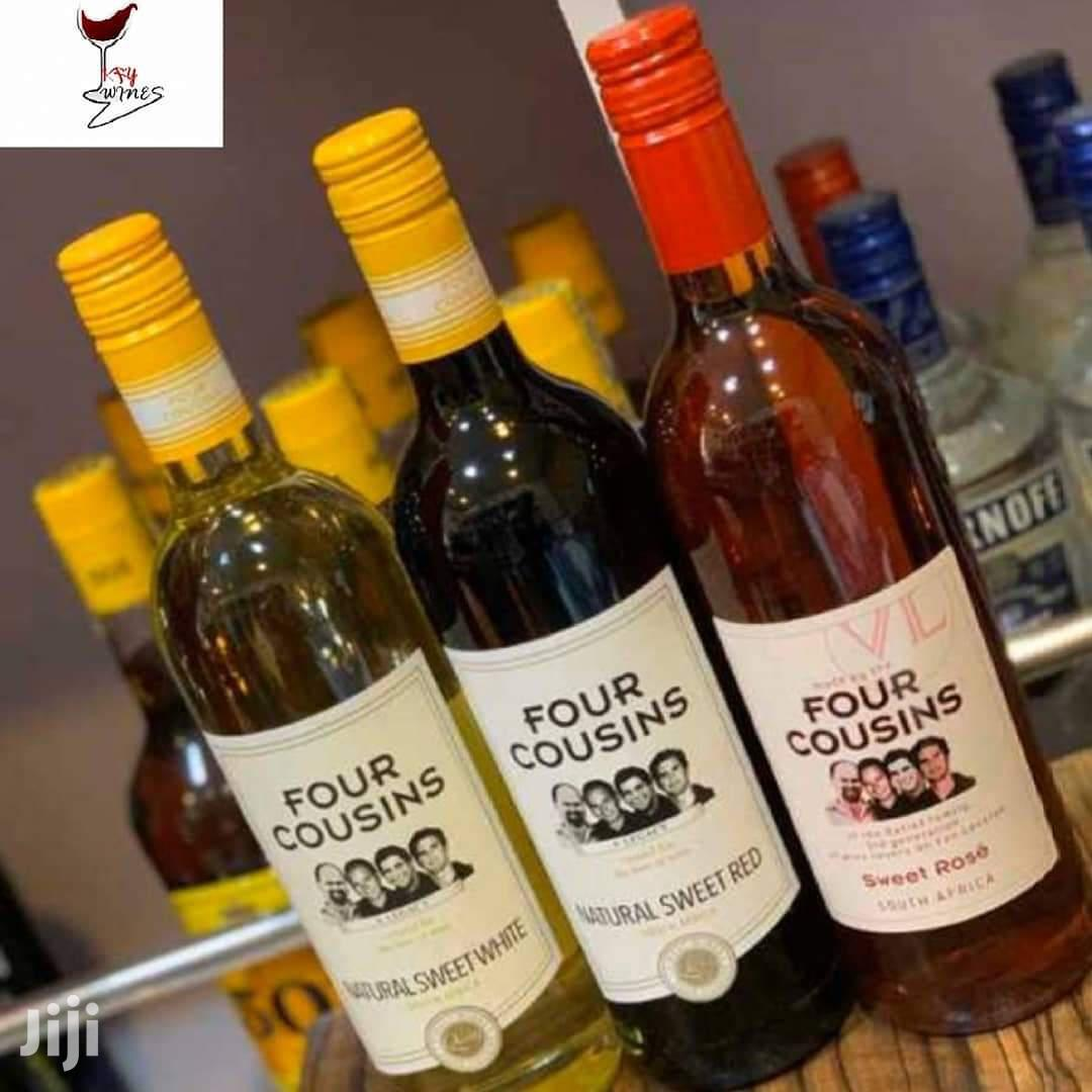 Four Cousins Natural Sweet White Wine 750Ml 3