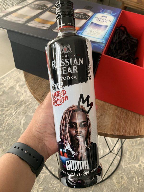 Russian Bear Vodka 750Ml 2
