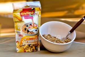 Glytime Granola Honey 350g 3