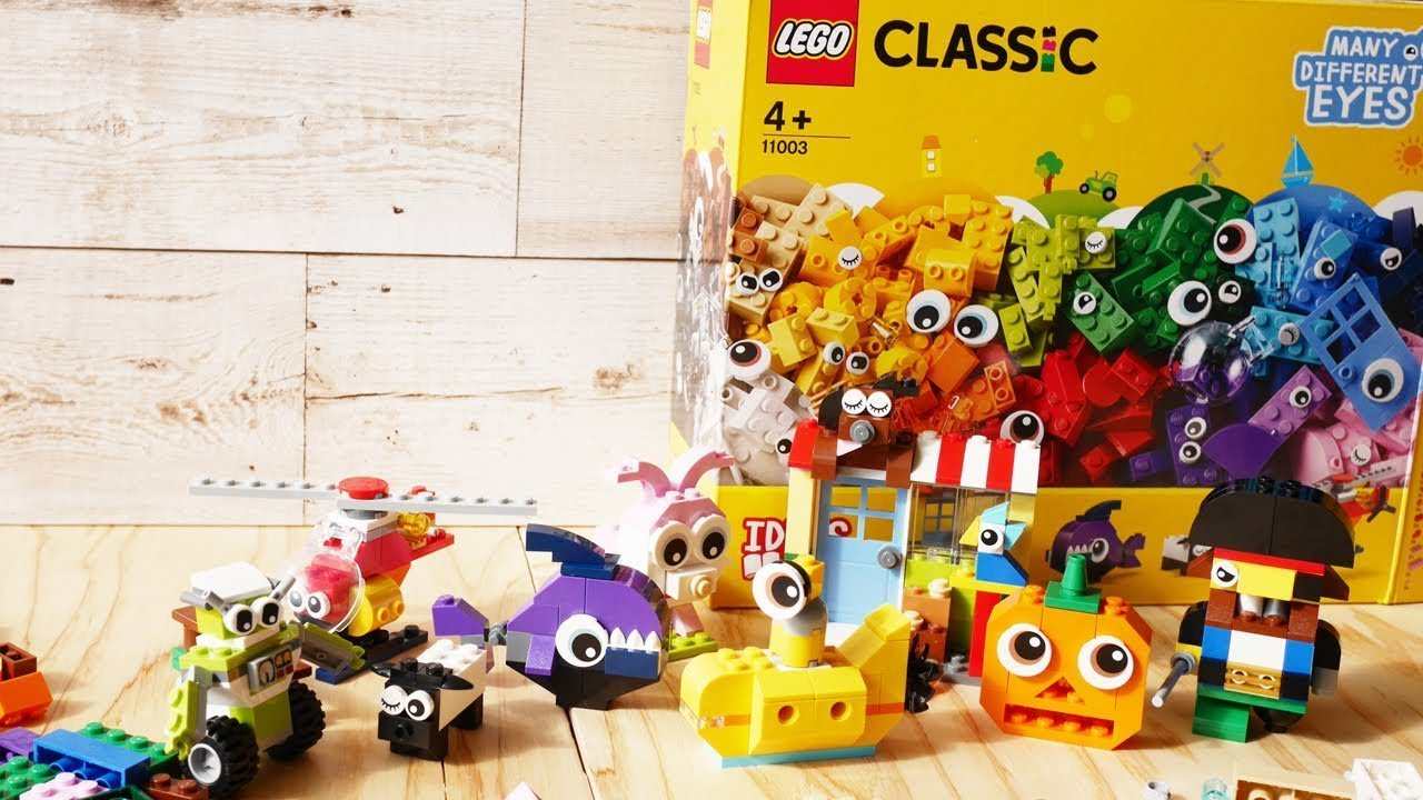 Lego Classic Bricks and Eyes 4