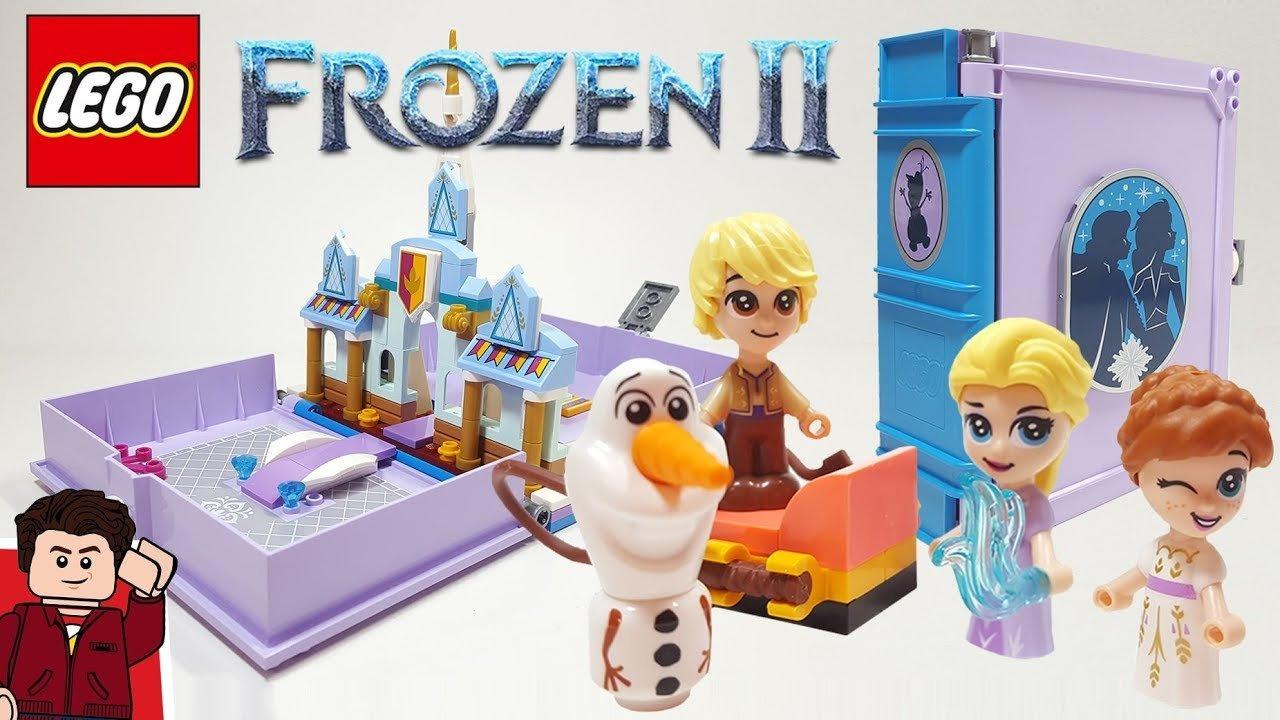 Lego Disney Princess Anna and Elsa's Storybook Adventures 4
