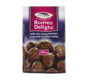 Cape Cookies Biscuits Romeo Delights 500g 3