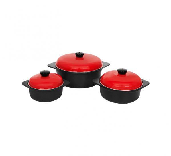 Cordon Bleu 6-Piece Cast Iron Cookware Set 1