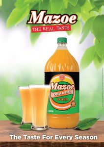 Mazoe Orange Crush 2L 5