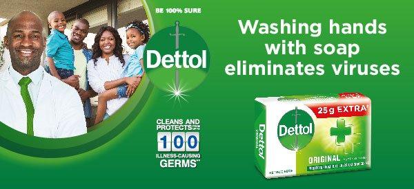 Dettol Soap 150/175g 4