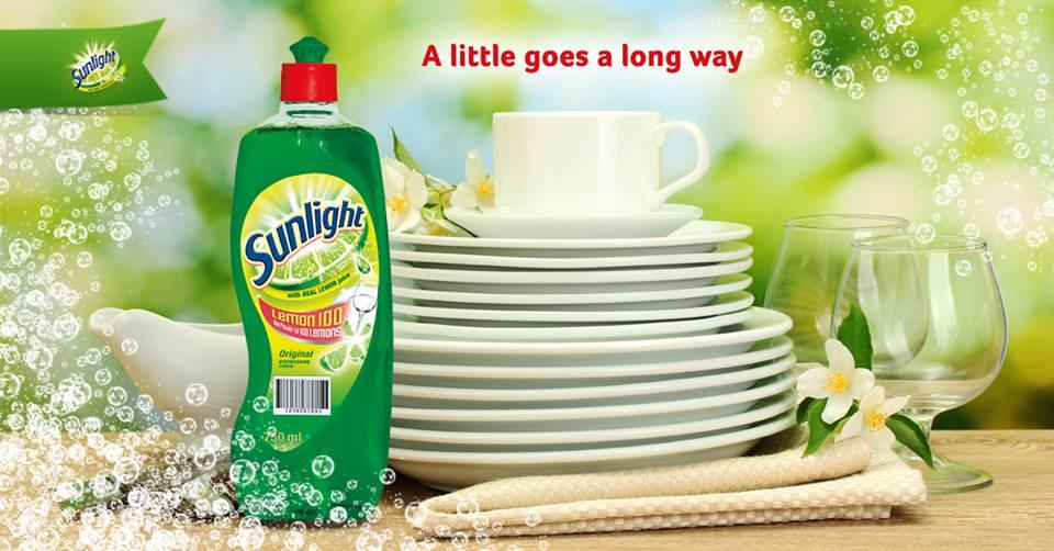 Sunlight Dishwashing Liquid 750Ml 3