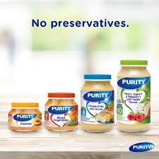 Purity 2nd Foods Peach and Yoghurt 125Ml 5