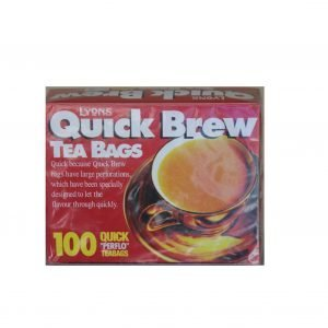 Lyons Quickbrew Teabags 100s