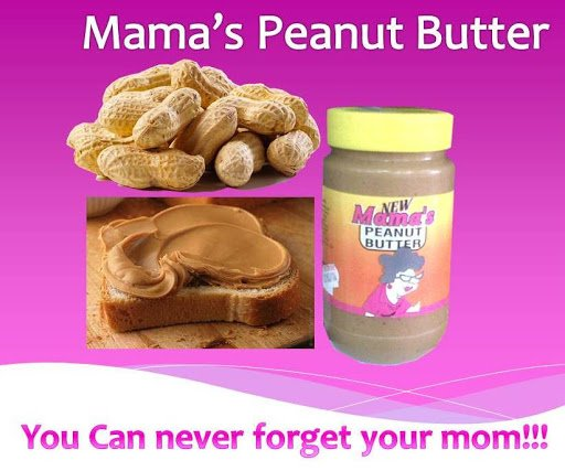 Mama's Peanut Butter 375Ml 3