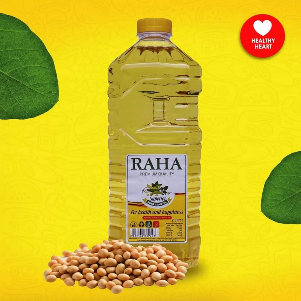 Raha Cooking Oil 2L 3