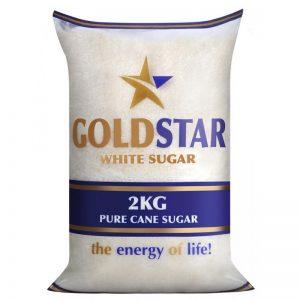 gold start white sugar