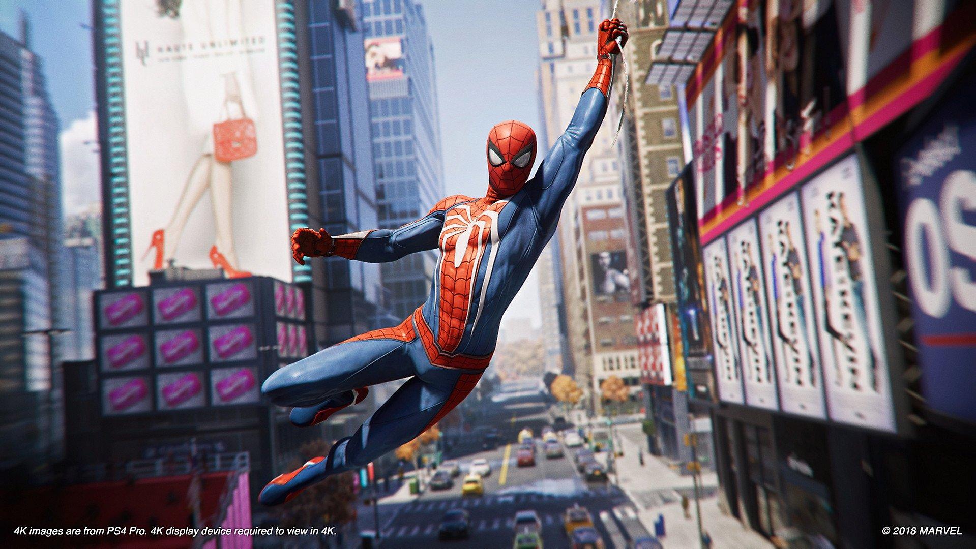 PS4 Marvel's Spiderman 4