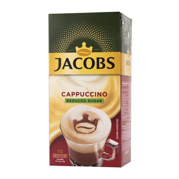 Jacobs Cappuccino Sticks (Reduced Sugar) (10 x 14g) 1