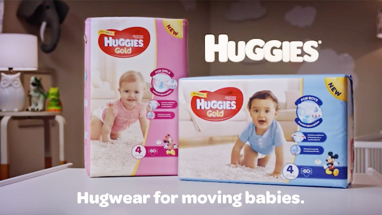 Huggies Gold Size 5 Value (42s) Nappies New Unisex 2