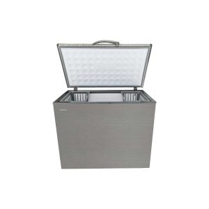 CAPRI 320L RELIABLE CHEST FREEZER METALLIC