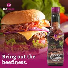 Mr Sauce Beefy Burger Sauce 375Ml 3