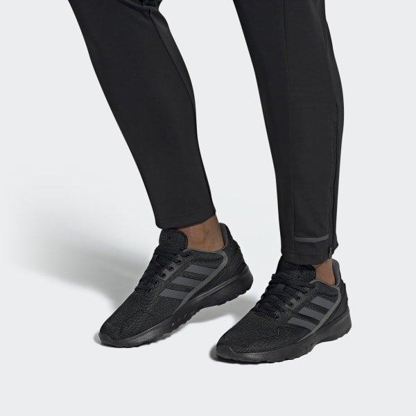 Men's Adidas Nebzed Black/Black Shoe 5