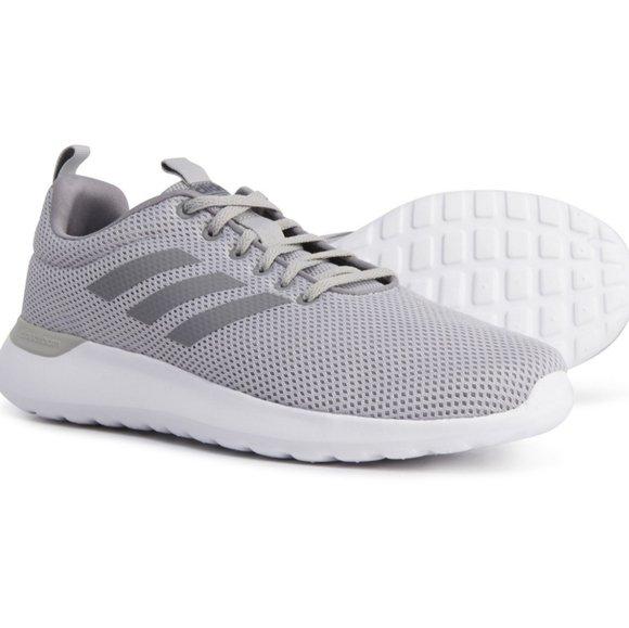 Men's Adidas Lite Racer CLN Grey Shoe 5