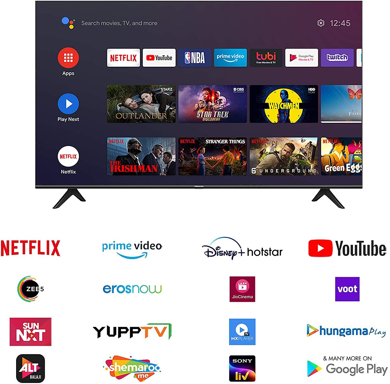 "Hisense 139 cm (55"") Smart UHD TV 2"