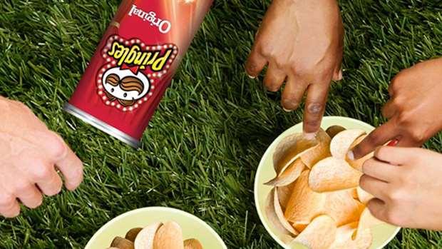 Pringles Potato Chips (All variants) 110g 3