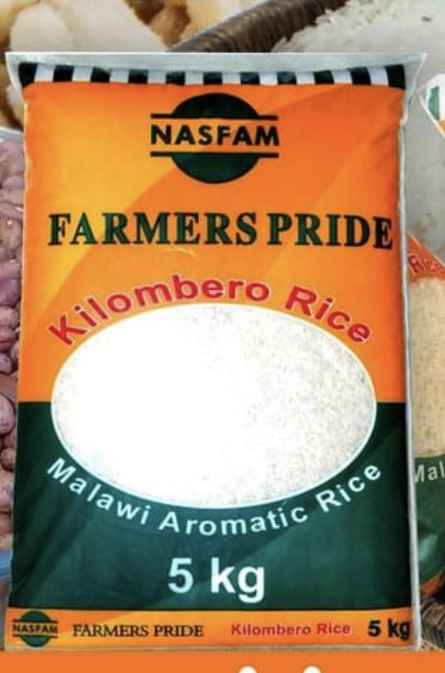 Nasfam Kilombero Rice 5kg